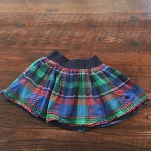 Abercrombie and Fitch Plaid Pleated Mini Skirt